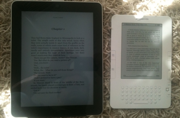 Kindle vs Ipad