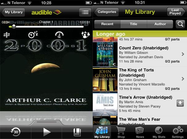 Liker du lydbøker? Da bør du teste ut Audible.