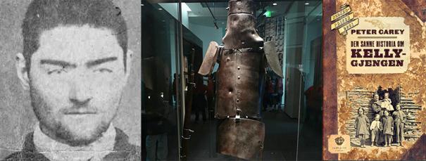 Ned Kelly, rustningen og boka